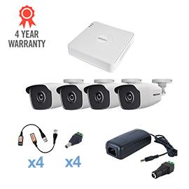Kit CCTV EPCOM HD 4 Bullet