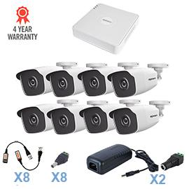 Kit CCTV EPCOM HD 8 Bullet